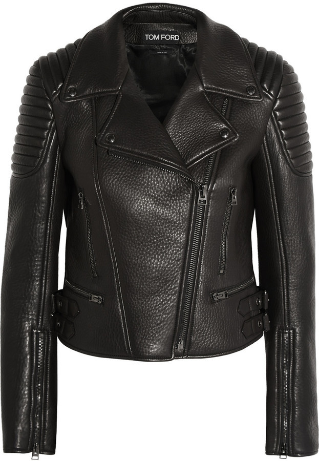 Какие кожаные куртки модны
