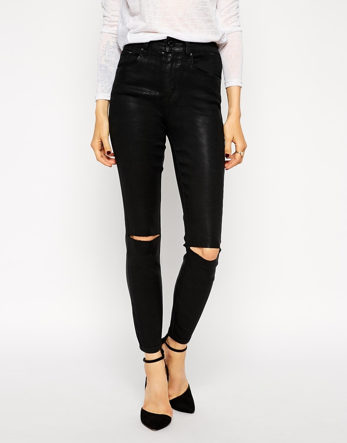 Дырки на коленках на брюках как сделать