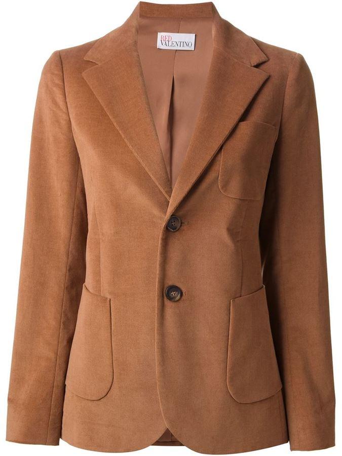 Коричневый женский пиджак