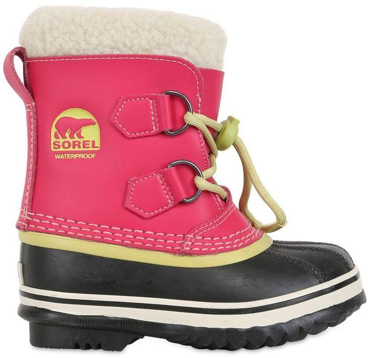 Sorel boots kinder