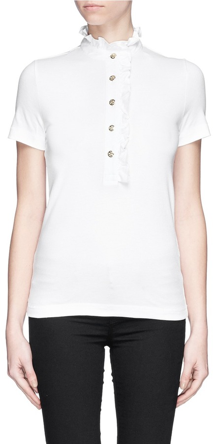Tory burch lidia polo shirt