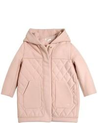 Abrigo acolchado rosado de Chloé