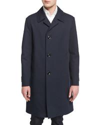 Abrigo azul marino de Tom Ford