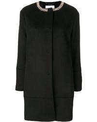 Abrigo con adornos negro de Blugirl