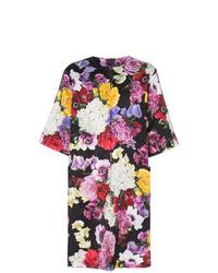 Abrigo con print de flores en multicolor de Dolce & Gabbana