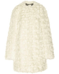 Abrigo con relieve blanco de MICHAEL Michael Kors