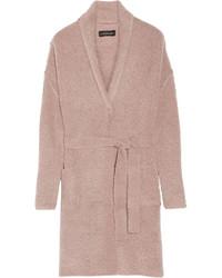 Abrigo con relieve rosado de By Malene Birger