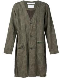 Abrigo de camuflaje verde oliva de White Mountaineering