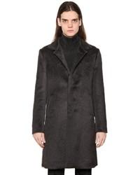 Abrigo de lana en gris oscuro de John Varvatos