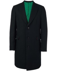 Abrigo de lana negro de Paul Smith