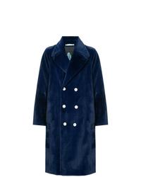 Abrigo de piel azul marino de GUILD PRIME