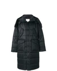 Abrigo de plumón negro de Helmut Lang