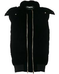 Abrigo de plumón negro de Stella McCartney