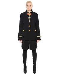 Abrigo de Terciopelo Negro de Givenchy