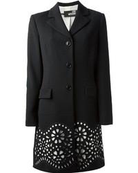 Abrigo en negro y blanco de Love Moschino