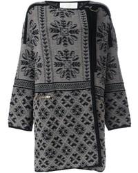 Abrigo gris de Chloé