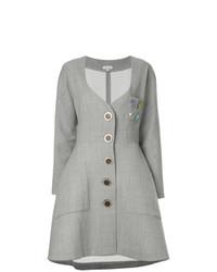 Abrigo gris de Natasha Zinko