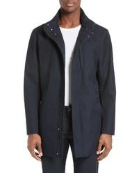 Abrigo largo azul marino de Armani Collezioni