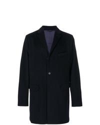 Abrigo largo azul marino de Aspesi