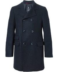 Abrigo largo azul marino de Fay