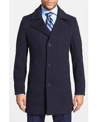 Abrigo largo azul marino de Michael Kors