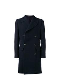Abrigo largo azul marino de The Gigi
