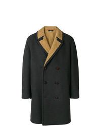 Abrigo largo en gris oscuro de Gucci