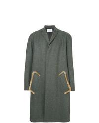 Abrigo largo en gris oscuro de Kolor