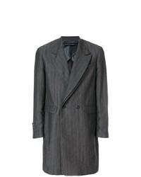 Abrigo largo en gris oscuro de Y/Project