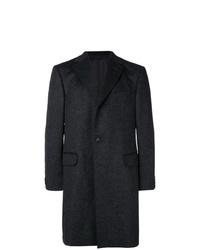 Abrigo largo en gris oscuro de Z Zegna