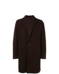 Abrigo largo en marrón oscuro de Altea