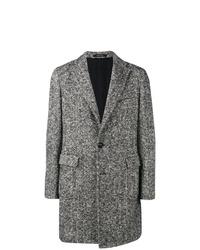 Abrigo largo en negro y blanco de Tagliatore
