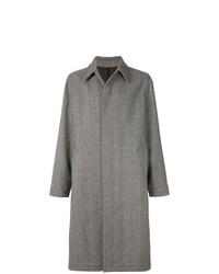 Abrigo largo gris de AMI Alexandre Mattiussi