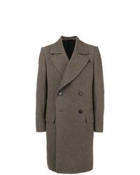 Abrigo largo gris de Ann Demeulemeester