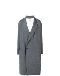 Abrigo largo gris de Damir Doma