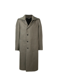 Abrigo largo gris de Jil Sander