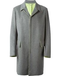 Abrigo largo gris de Kenzo