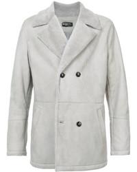 Abrigo largo gris de Kiton