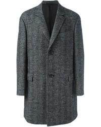 Abrigo largo gris de Lanvin