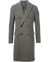 Abrigo largo gris de Ralph Lauren