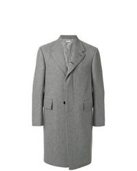 Abrigo largo gris de Thom Browne