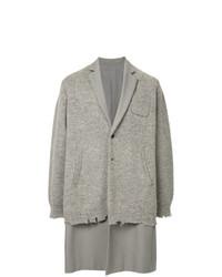 Abrigo largo gris de Undercover