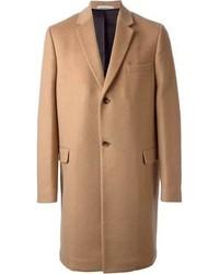 Abrigo largo marrón claro