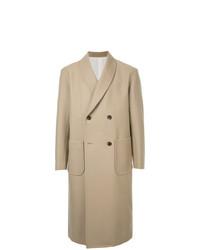 Abrigo largo marrón claro de 08sircus