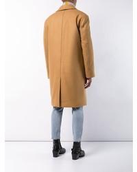 Abrigo largo marrón claro de Faith Connexion