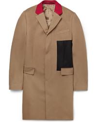 Abrigo largo marrón claro de Givenchy