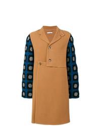 Abrigo largo marrón claro de JW Anderson