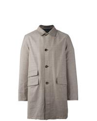 Abrigo largo marrón claro de Kiton