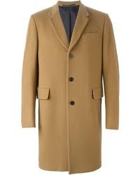 Abrigo largo marrón claro de Paul Smith