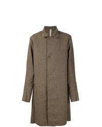 Abrigo largo marrón de A Diciannoveventitre